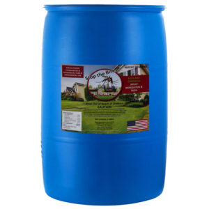 Natural mosquito spray 55 gallon stop the bites drum