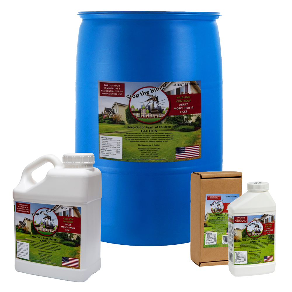 Natural mosquito repellent for yard